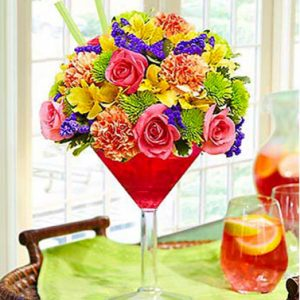 Sangria Bouquet by Thomas Florist